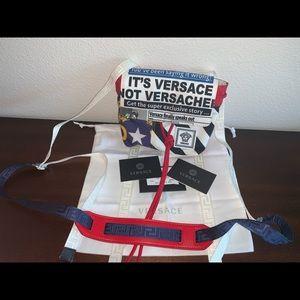 Authentic Versace ropes mini crossbody bag